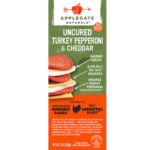 Applegate Naturals Turkey Pepperoni and Cheddar Snack Pack