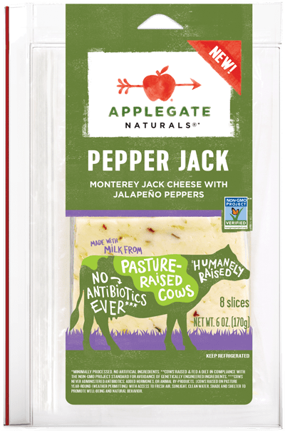 Applegate Naturals Pepper Jack Cheese