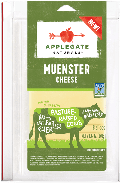 Applegate Naturals Muenster Cheese