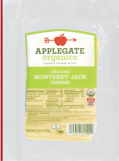 Applegate Organics Monterey Jack Cheese