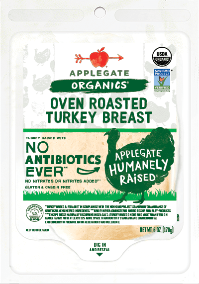 Applegate Organics Oven Roasted Turkey Breast