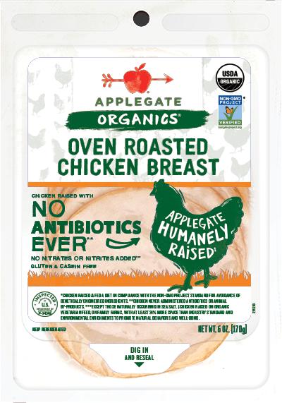 Applegate Organics Oven Roasted Chicken Breast