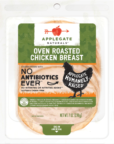 Applegate Naturals Oven Roasted Chicken Breast