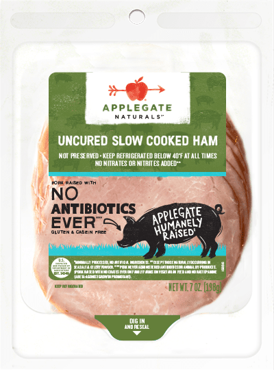 Applegate Naturals Slow Cooked Ham