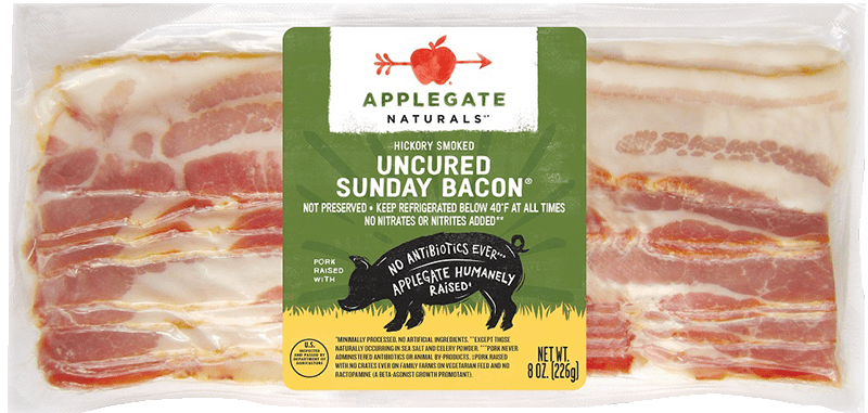 Applegate Naturals Sunday Bacon Brand