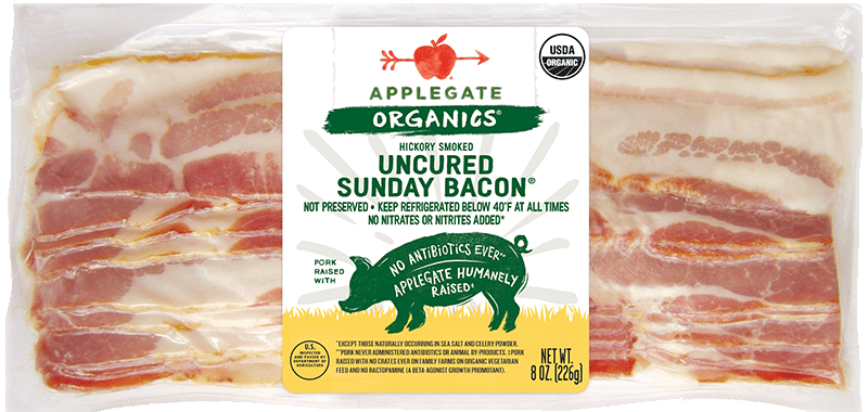 Applegate Organics Sunday Bacon  Brand