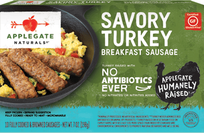 Natural Savory Turkey Breakfast Sausage