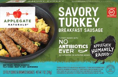 Natural Savory Turkey Breakfast Sausage