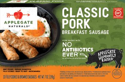 Natural Classic Pork Breakfast Sausage