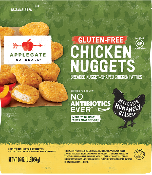 Natural Gluten-Free Chicken Nuggets in a Family Size Bag
