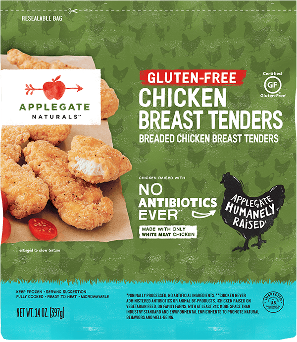 Natural Gluten-Free Chicken Tenders in a Family Size Bag