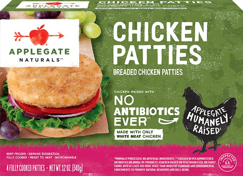 Natural Chicken Patties