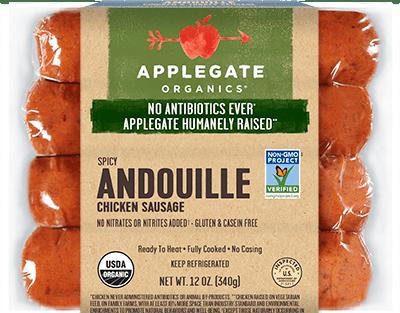 Applegate Organics Andouille Sausage