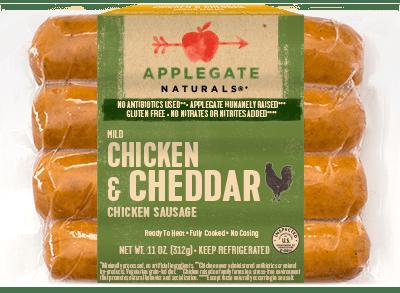 Applegate Naturals Chicken & Cheddar Sausage