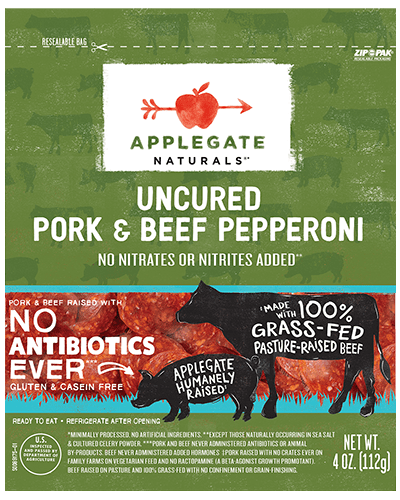 Applegate Naturals Pork & Beef Pepperoni