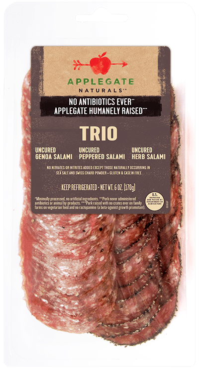 Applegate Naturals Genoa Salami Trio