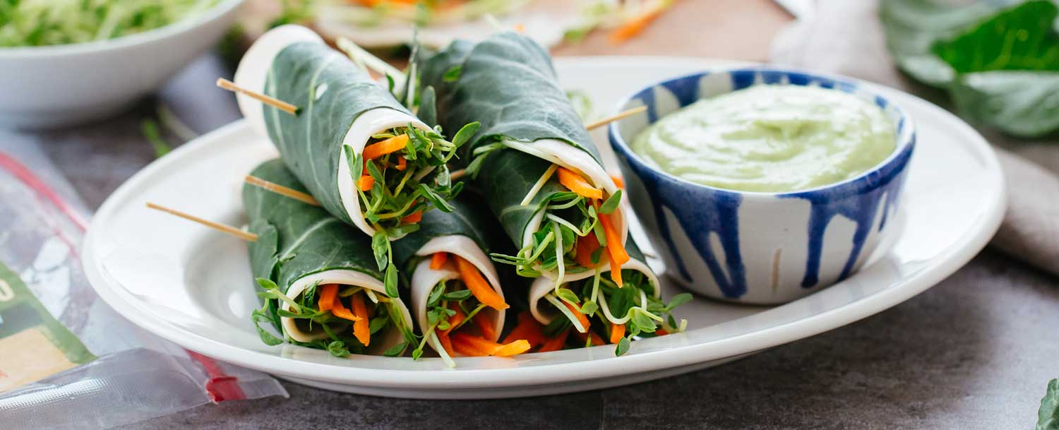 Turkey roll ups recipe