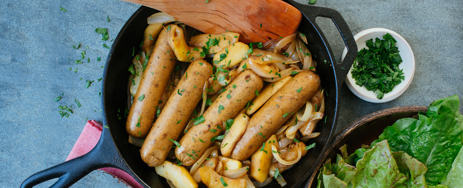 Chick&apple sausage recipe