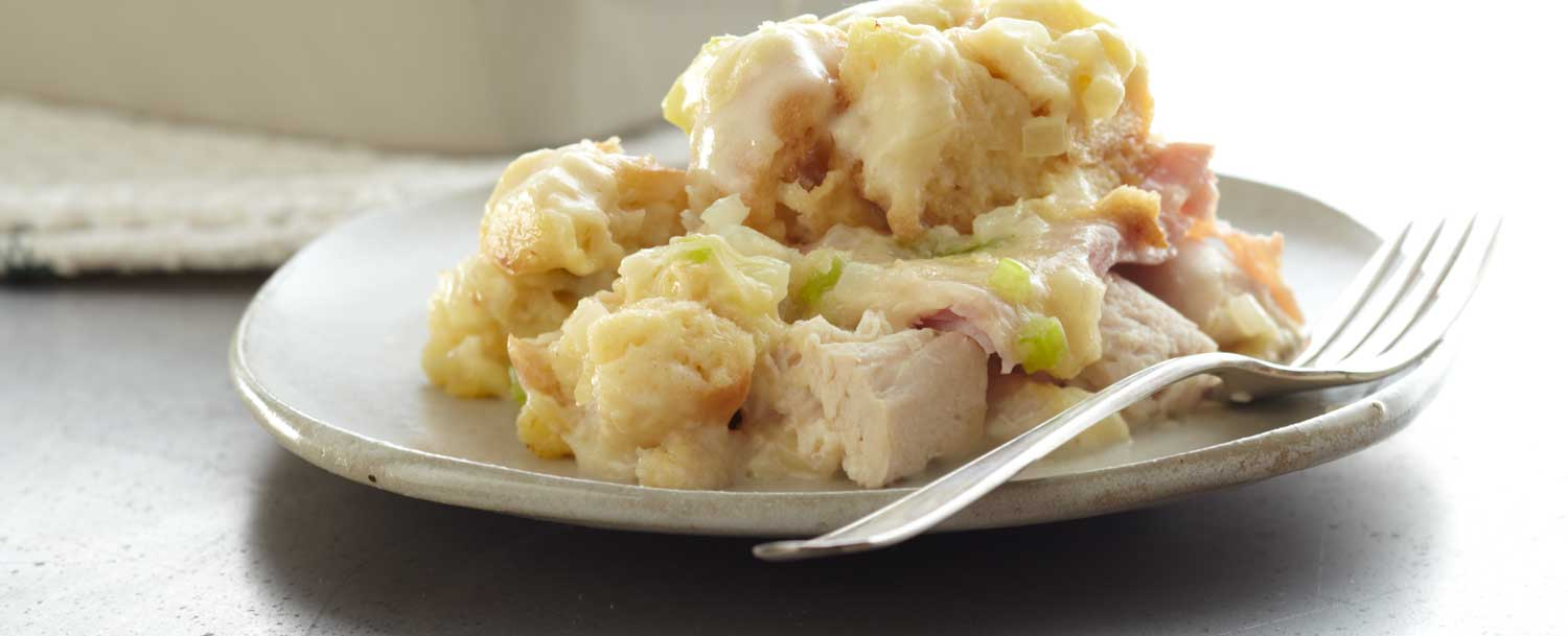 Farmhouse chicken casserole