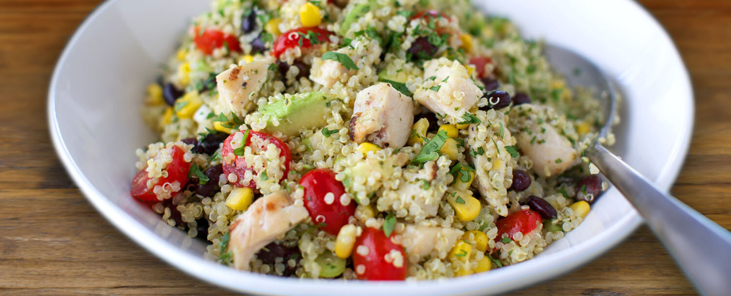 Recipes Mexican Quinoa Salad With Lime Cilantro Dressing Applegate