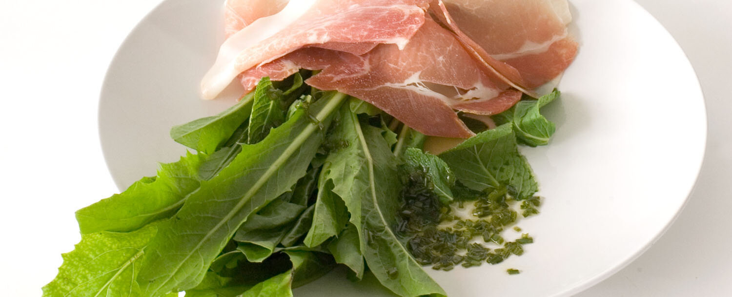 Prosciutto%20salad%20with%20dandelion%20greens