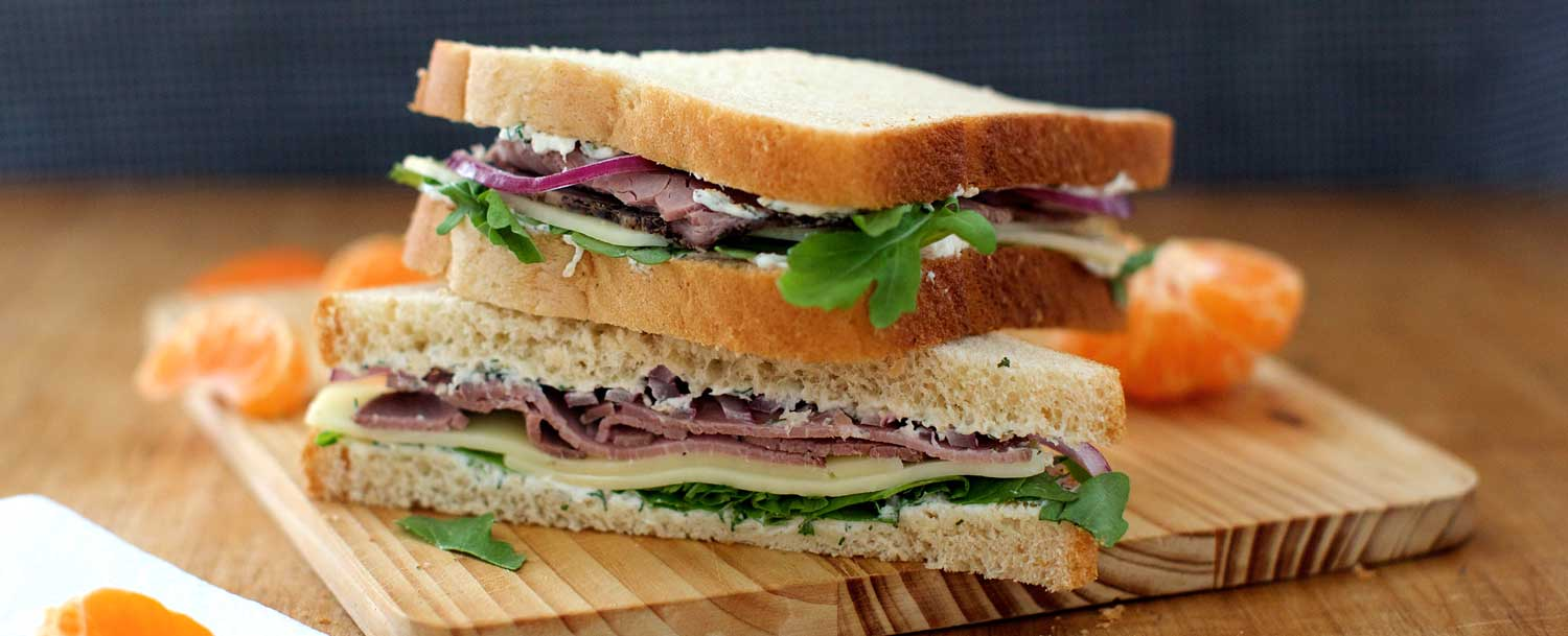Natural roast beef sandwich recipe