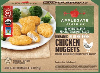 Applegate Organics Gluten-Free Chicken Nuggets