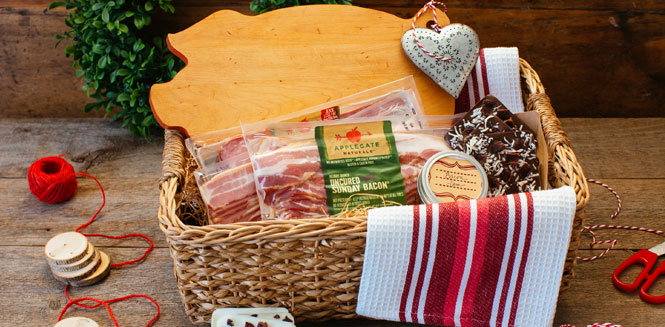 Bacon gift basket blog