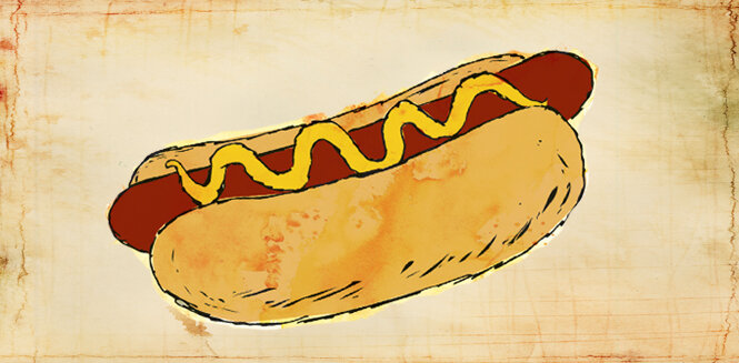 Fav tweets blog hot dog