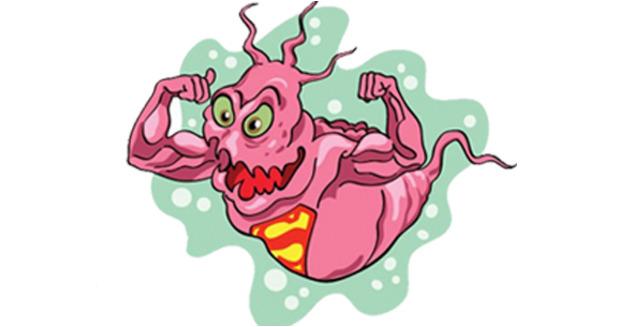 Pink superbug