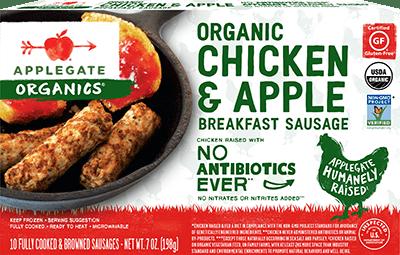 Products - Breakfast Sausage - Applegate