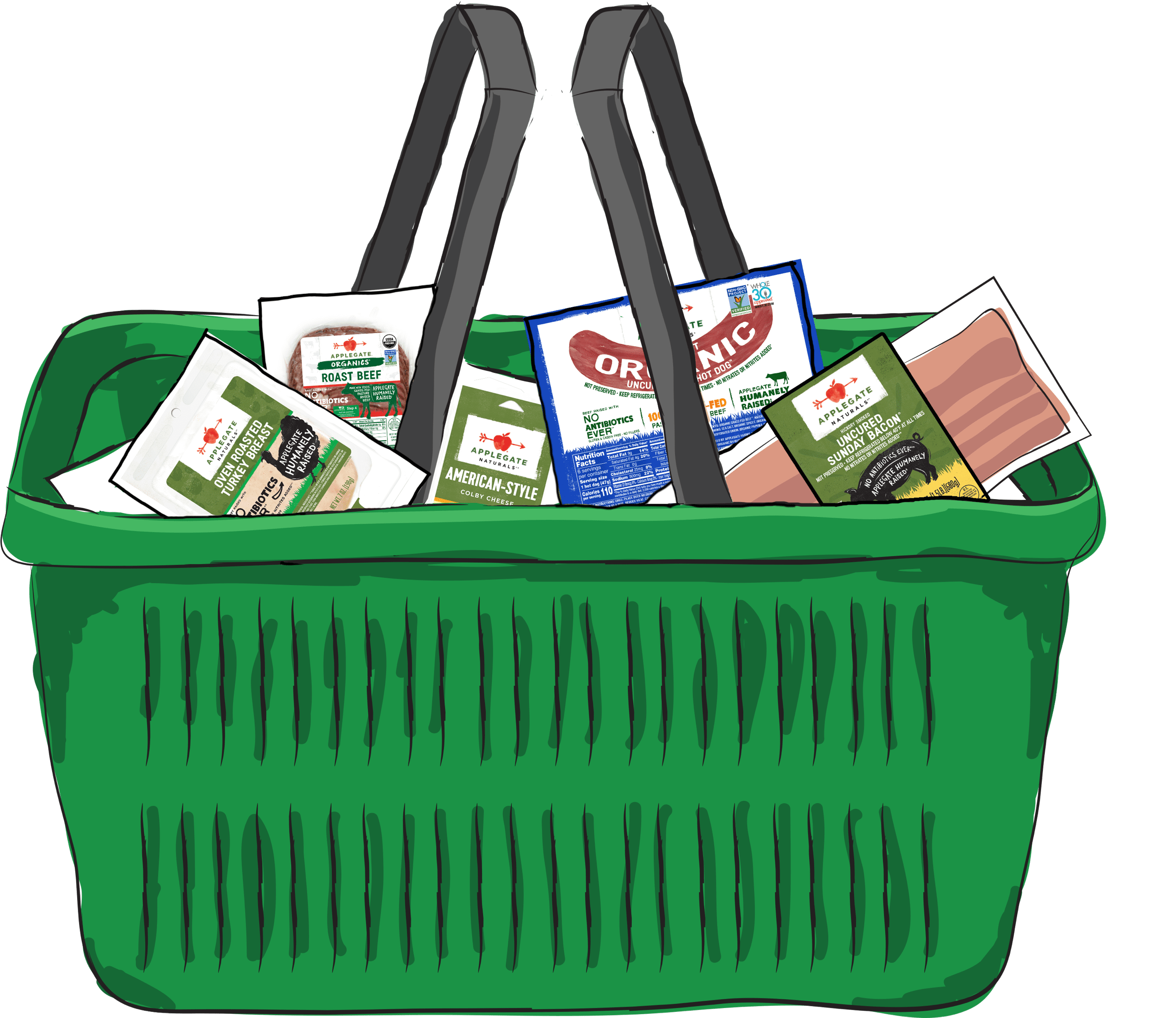 Products illustration