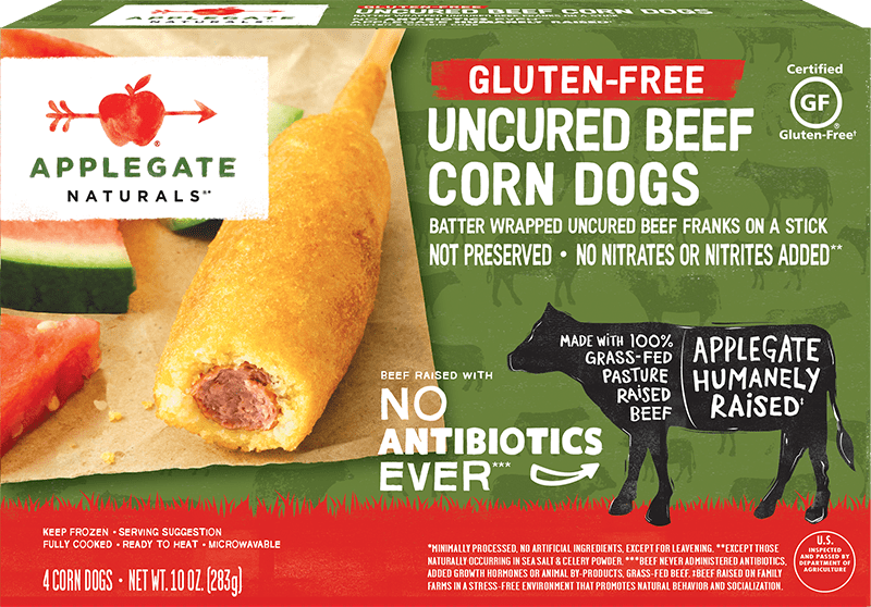 Nat corn dogs front