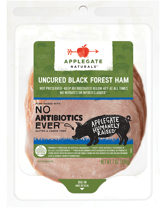 Nat black forest ham front
