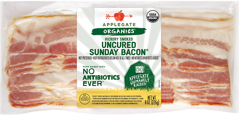 Organic sunday bacon front